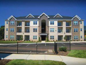 Greensboro New Garden Square Apartments Building