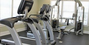 New Garden Square Apartments Gym