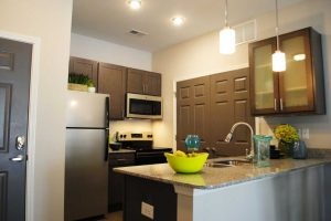 Wayfare at Garden Crossing Corporate Housing Kitchen