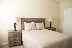 Crowne at James Landing Apartments bedroom Greensboro NC
