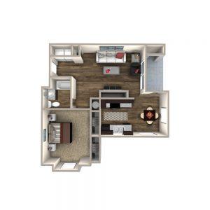 Crowne at James Landing Apartments Floor Plan 5
