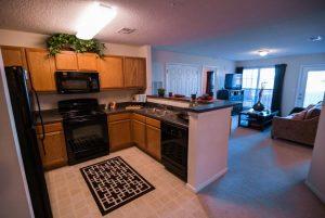 Greensboro, NC Executive Apartments kitchen