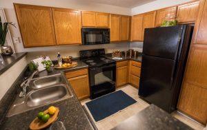 Palladium Park Apartments Kitchen