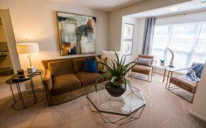 Palladium Park Apartments Living Room