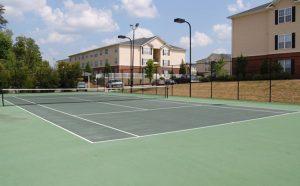 Palladium Park Apartments Tennis Court