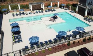Wayfare at Garden Crossing Corporate Housing Pool
