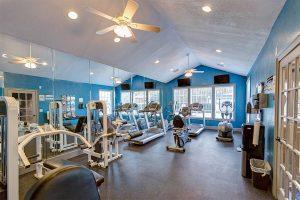 Crowne Club Apartments Gym