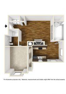 Crowne Park Apartments Floor Plan Winston Salem