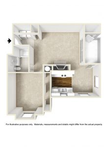 Crowne Polo Apartments Floorplan Winston Salem