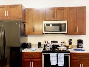 Palladium Apartments Kitchen NC