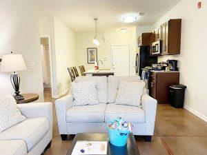 Palladium Apartments Living Area