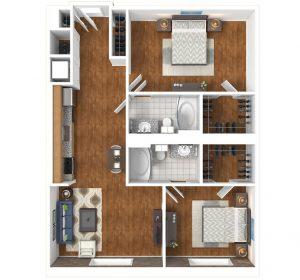 Lofts at White Furniture Floor plan