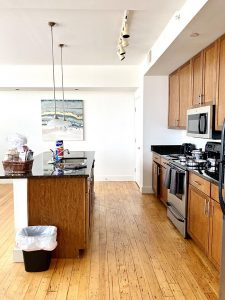 Gallery Lofts kitchen Winston Salem