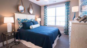 Bedroom Sawmill apartment