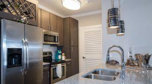 Sawmill apartments kitchen