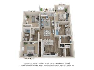 Cypress-floorplan